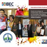 Universidad Tecnológica Equinoccial (UTE) es acreditada como un International Adobe Academy by IBEC