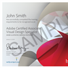 Certificación internacional Adobe visual design specialist