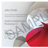 Certificación internacional Adobe certified expert photoshop CC