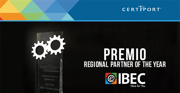 Certiport otorga a IBEC Corporation el Premio Regional Partner of the Year 2017