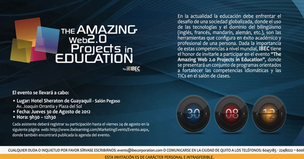 The Amazing Web2.0 Projects in Education